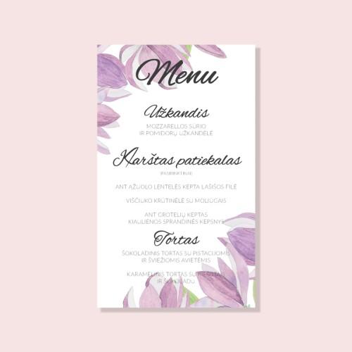Magnolijų menu
